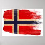Posters de la bandera de Noruega