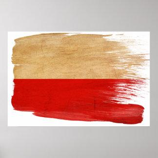 Posters de la bandera de Polonia