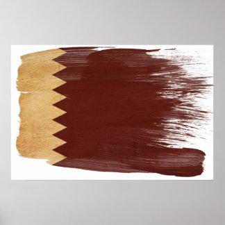 Posters de la bandera de Qatar
