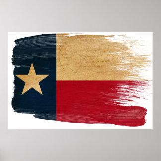 Posters de la bandera de Tejas