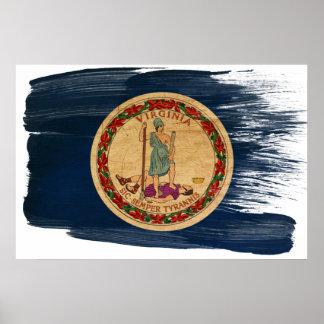 Posters de la bandera de Virginia