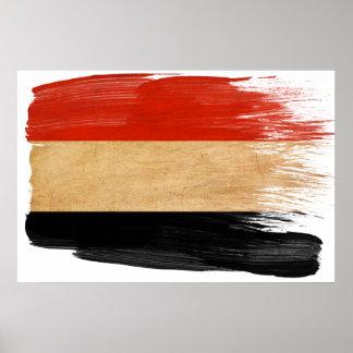 Posters de la bandera de Yemen