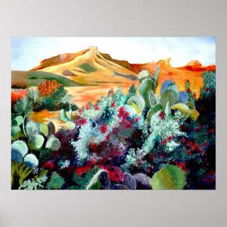 Posters de la belleza del desierto