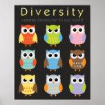 Posters de la diversidad para los niños