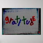 """posters de la """"gratitud"""""""