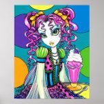 """Posters de la hada del helado del arco iris de """"Mo"""
