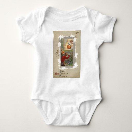Posters de la obra clásica de las tarjetas de body para bebé