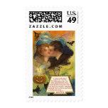 Posters de la obra clásica de las tarjetas de feli franqueo