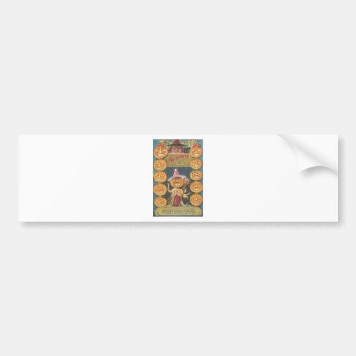 Posters de la obra clásica de las tarjetas de pegatina para auto