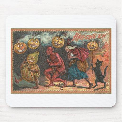 Posters de la obra clásica de las tarjetas de alfombrilla de ratón