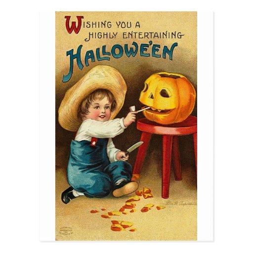 Posters de la obra clásica de las tarjetas de tarjetas postales