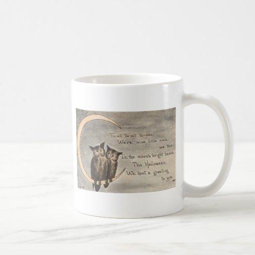 Posters de la obra clásica de las tarjetas de taza de café