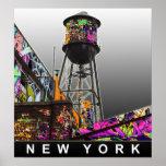 Posters de la pintada de Nueva York