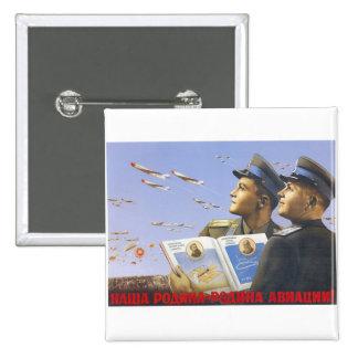 Posters de la propaganda de Unión Soviética de la  Pin