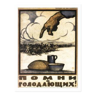 Posters de la propaganda de Unión Soviética de la Postal