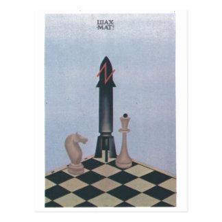 Posters de la propaganda de Unión Soviética de la Postales