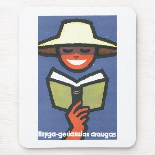 Posters de la propaganda de Unión Soviética de la Tapetes De Ratón