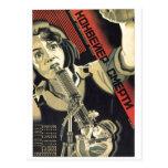 Posters de la propaganda de Unión Soviética de la  Tarjetas Postales