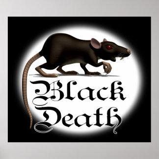 Posters de la rata de la muerte negra