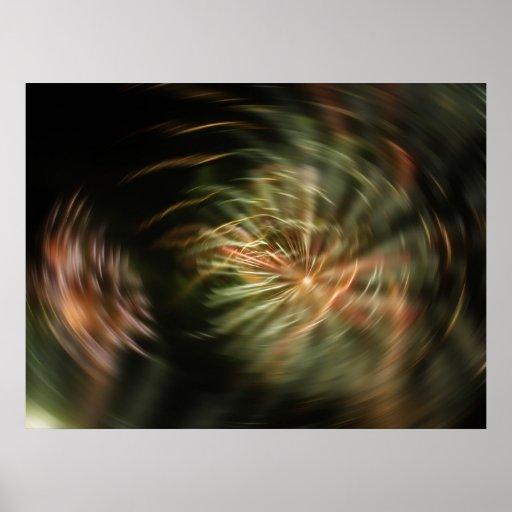 posters de los fuegos artificiales 3D
