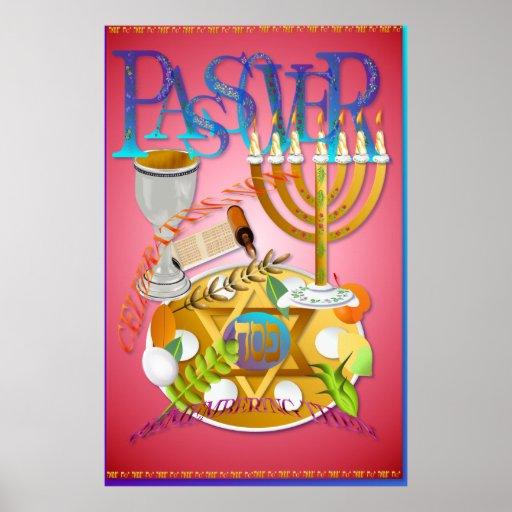 Posters de Seder del Passover