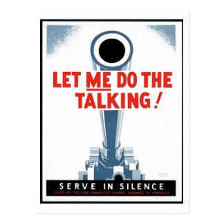 """Posters de WPA - """"déjeme hacer"""" la postal que habl"""