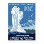 "Posters de WPA - postal de ""Yellowstone"""