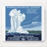 """Posters de WPA - """"Yellowstone"""" Mousepad Alfombrillas De Raton"""
