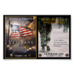 Posters del día de veteranos a partir del 8,99