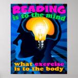 Posters del ejercicio de la lectura