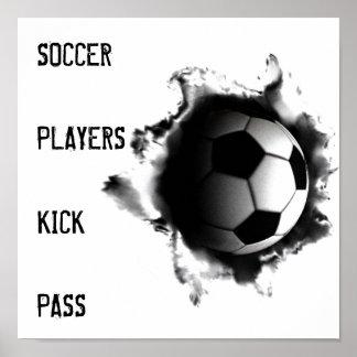posters del fútbol