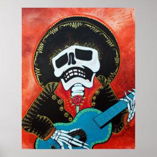 Posters del músico del Mariachi