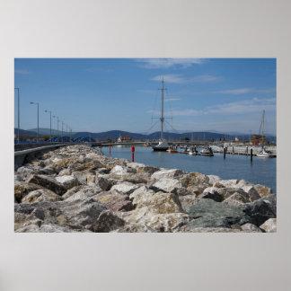 Posters del puerto de Rhyl