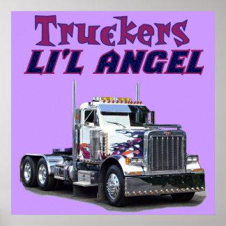 Posters e impresiones del ángel de L il del camion