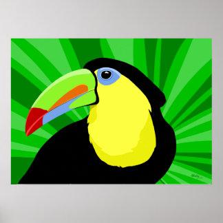 Posters e impresiones del arte de Toucan