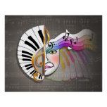 Posters & Fine Art: Music Mask