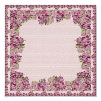 POSTERS Graphic Patterns Stars Flowers Poster