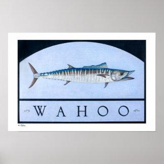 Posters, impresiones y marcos del Wahoo