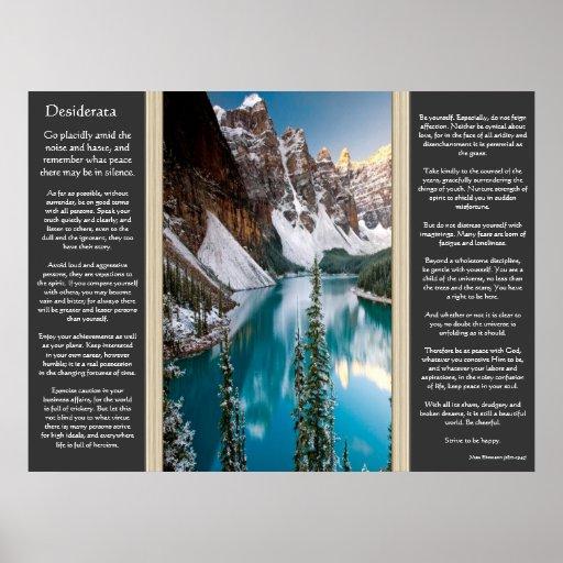 Posters majestuosos del Mountain View de los desid