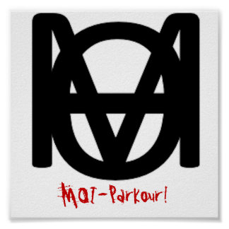 Posters MOI-Parkour