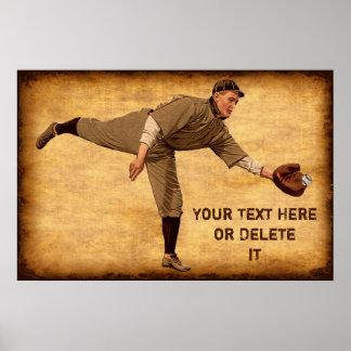 Posters PERSONALIZADOS grandes del béisbol del