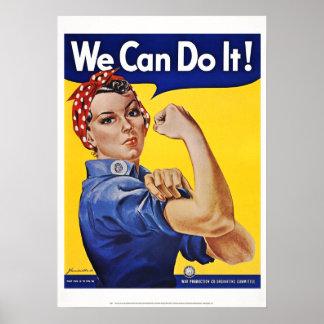 Posters: Podemos hacerlo   (la versión 2)