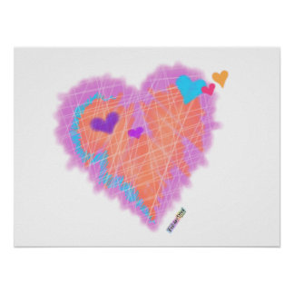Posters, Prints - Cross My Heart Poster