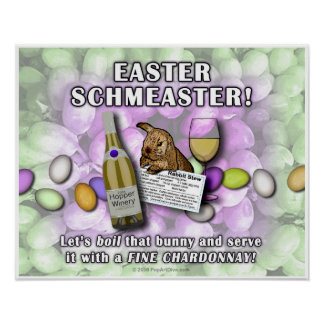 Posters, Prints - EASTER SCHMEASTER Poster