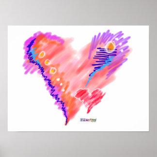 Posters, Prints - Heart Felt Poster