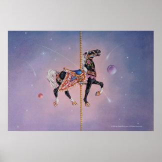 Posters, Prints - Petaluma Carousel Horse 2 Poster