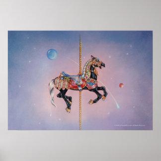 Posters, Prints - Petaluma Pony Carousel Horse 1 Poster