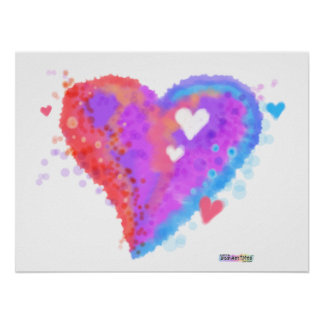 Posters, Prints - Torn Heart Poster