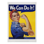 Posters: We Can Do It   (Version 2)