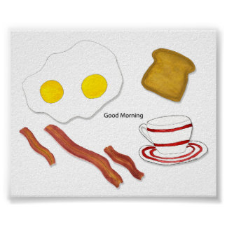 Posters y impresiones de la buena mañana